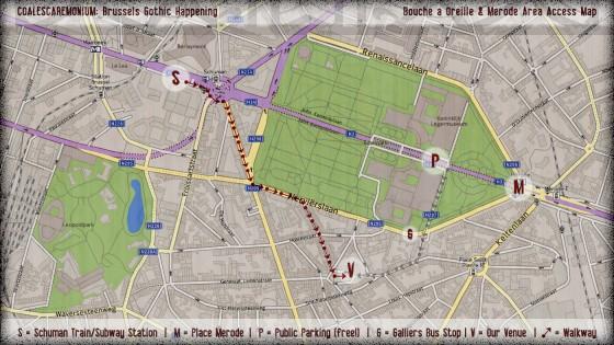 Merode Access Plan